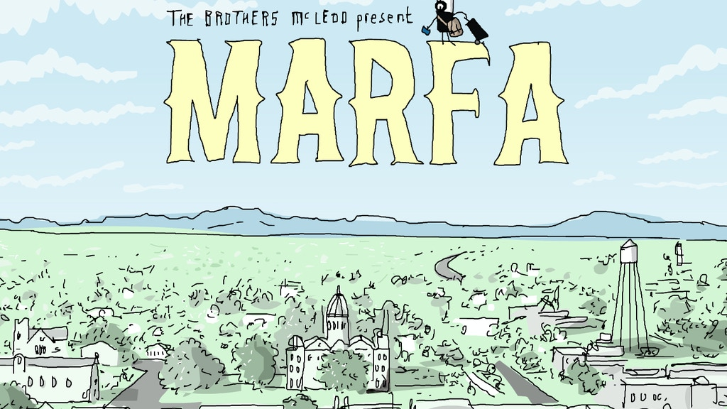 Marfa - An Animated Travelogue project video thumbnail