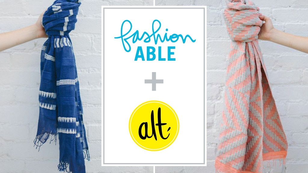 fashionABLE + Alt Exclusive Scarves project video thumbnail