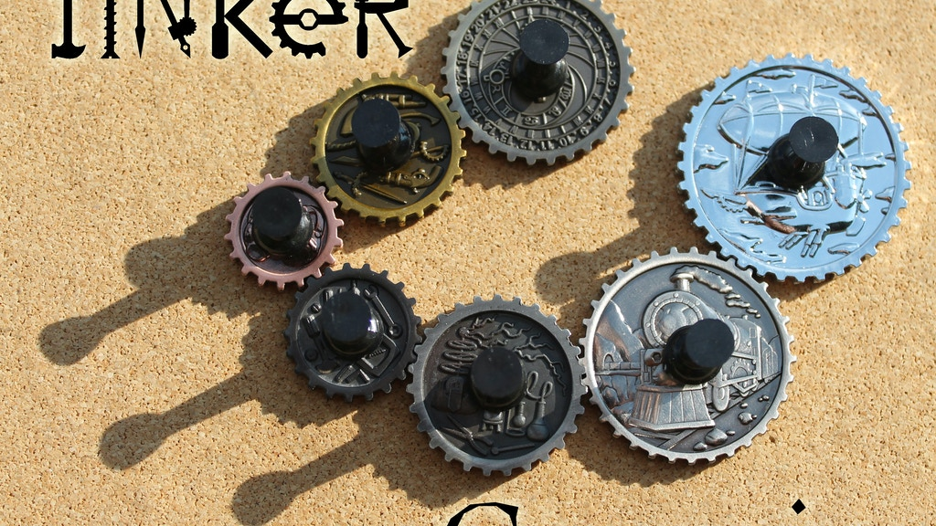 Tinker Gearcoins - Steampunk Game Coins project video thumbnail