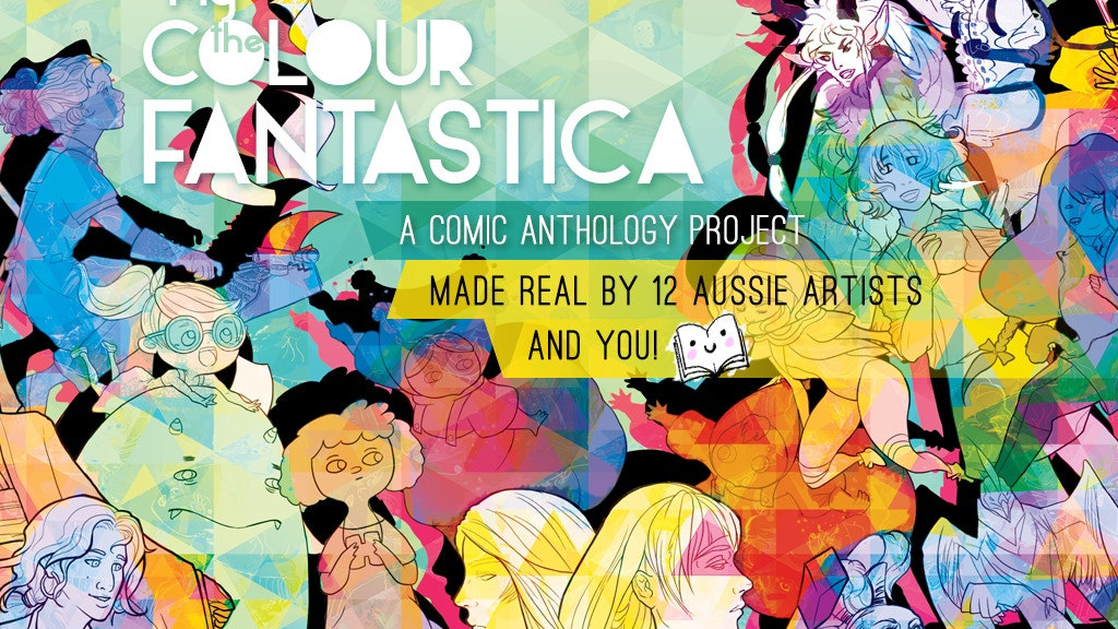 Fly the Colour Fantastica: A Comic Anthology project video thumbnail