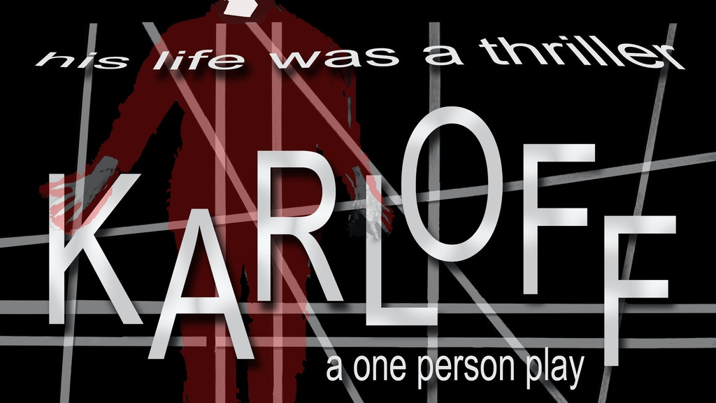 KARLOFF: a new one-person play project video thumbnail