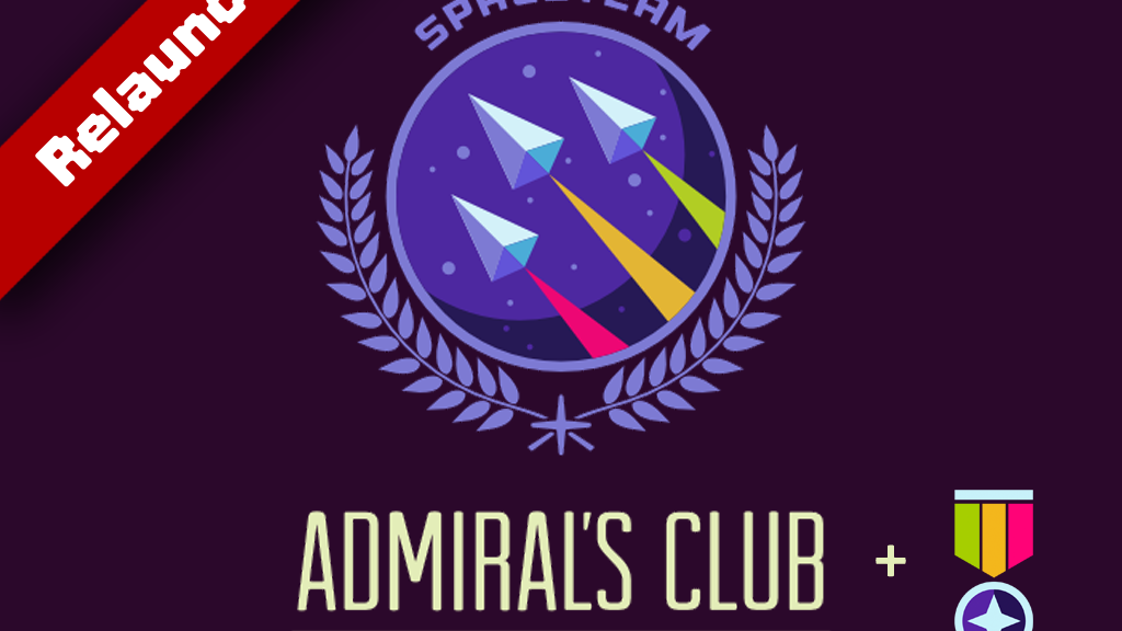 Spaceteam Admiral's Club **Relaunch** project video thumbnail