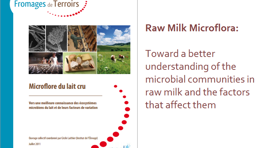 Raw Milk Microbiology for Cheesemakers project video thumbnail
