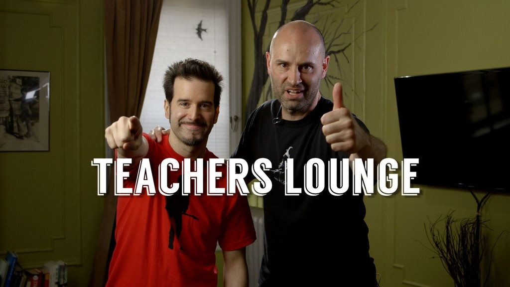 Teachers Lounge project video thumbnail