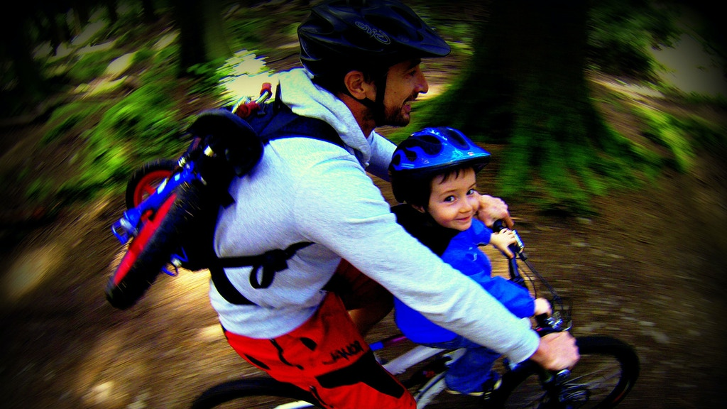 Mac Ride - A Unique Child Seat for Adult Mountain Bikes project video thumbnail