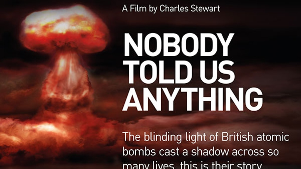 Project image for Documentary: Nobody Told Us Anything