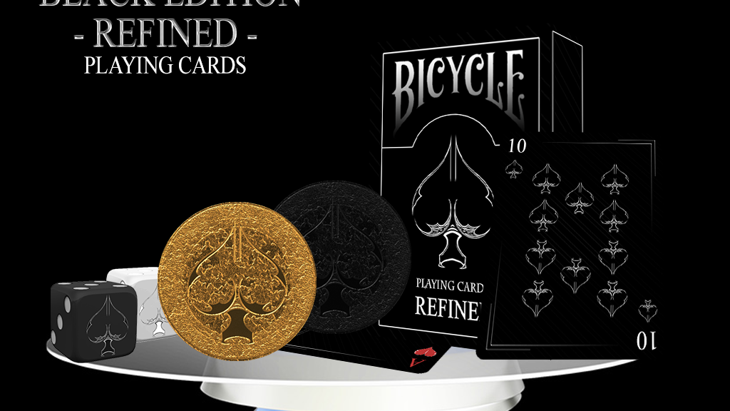 Project image for B.E: Refined Bicycle Playing Cards by USPCC (Canceled)
