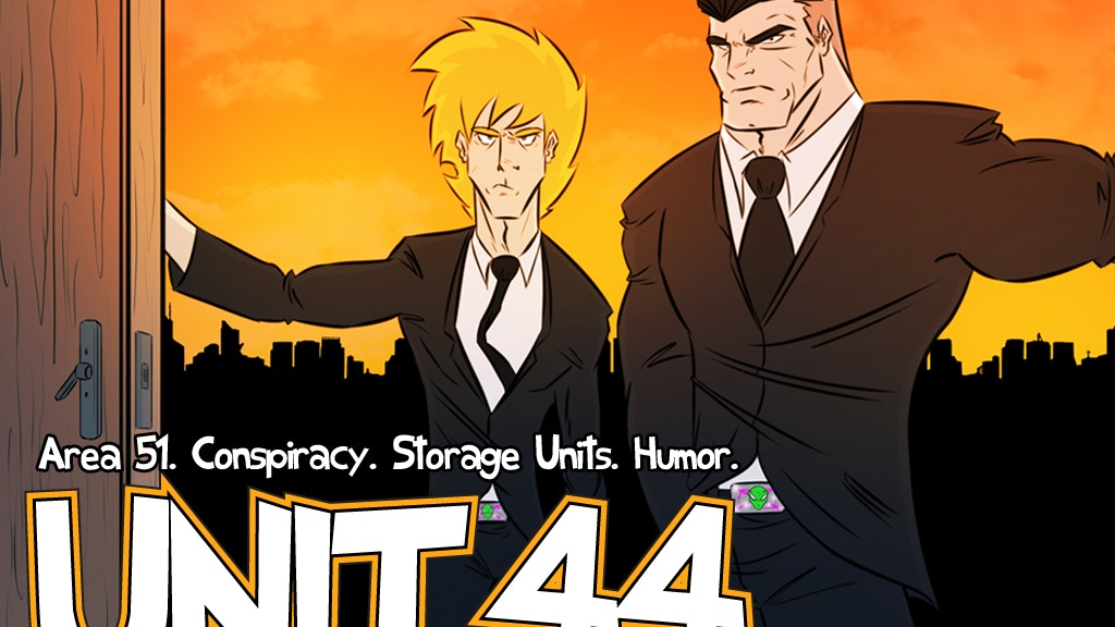 Unit 44 :: Area 51! Conspiracy! Storage Units! Humor! project video thumbnail