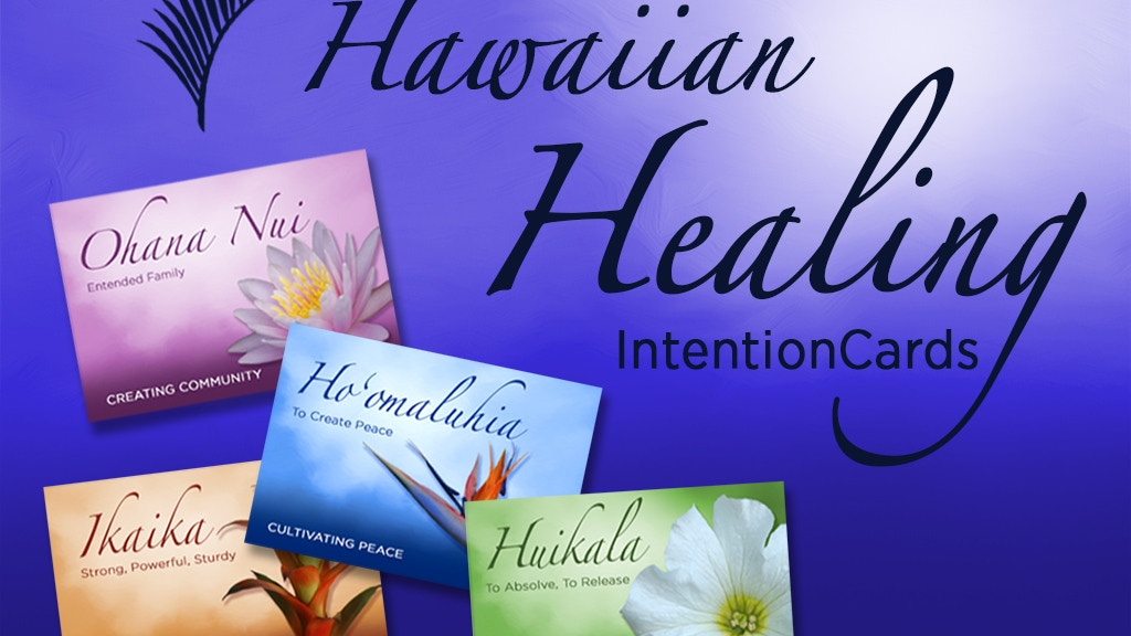 Hawaiian Healing Oracle Cards project video thumbnail