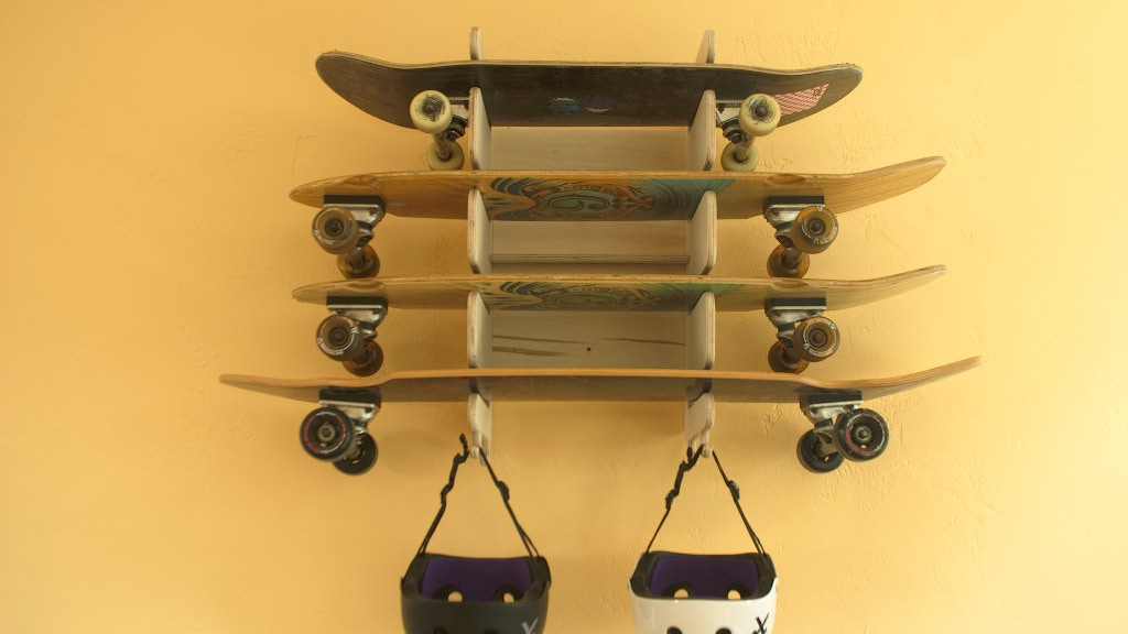 Soto - the wall mounted board rack for all of your boards project video thumbnail