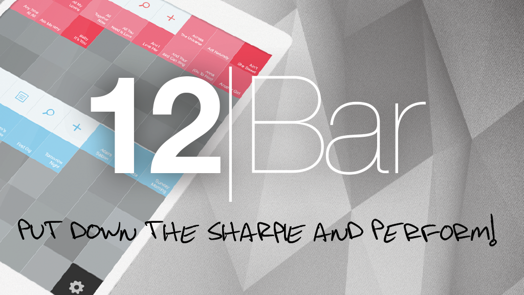 12bar For Ipad Create And Share Chord Charts And Set Lists By 12bar