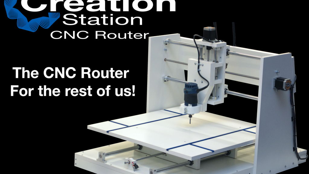 The Creation Station Open Source CNC Router project video thumbnail