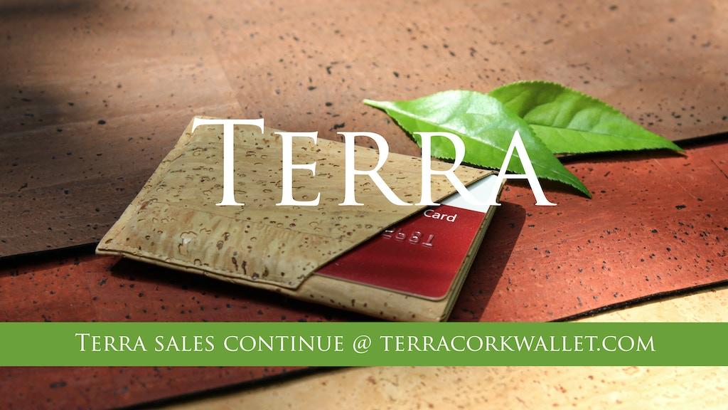"the Terra ""Cork"" Wallet project video thumbnail"
