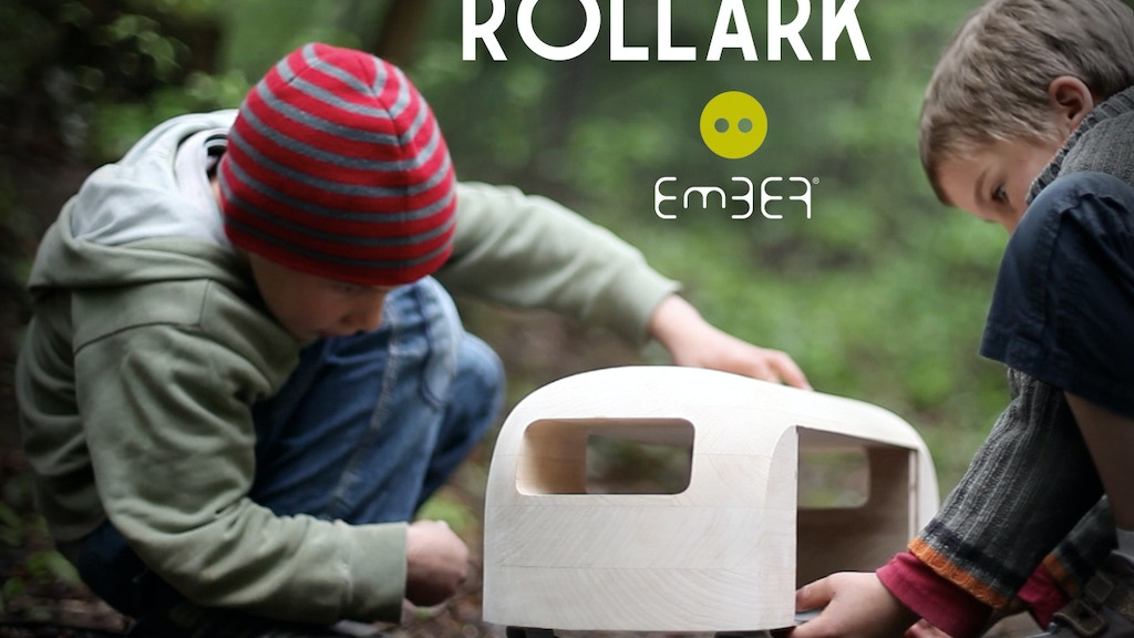 ROLLARK is a fun wooden toy! And also a green design object project video thumbnail