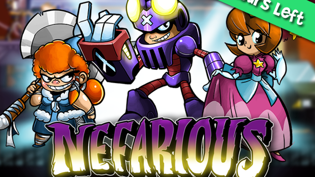 Nefarious project video thumbnail