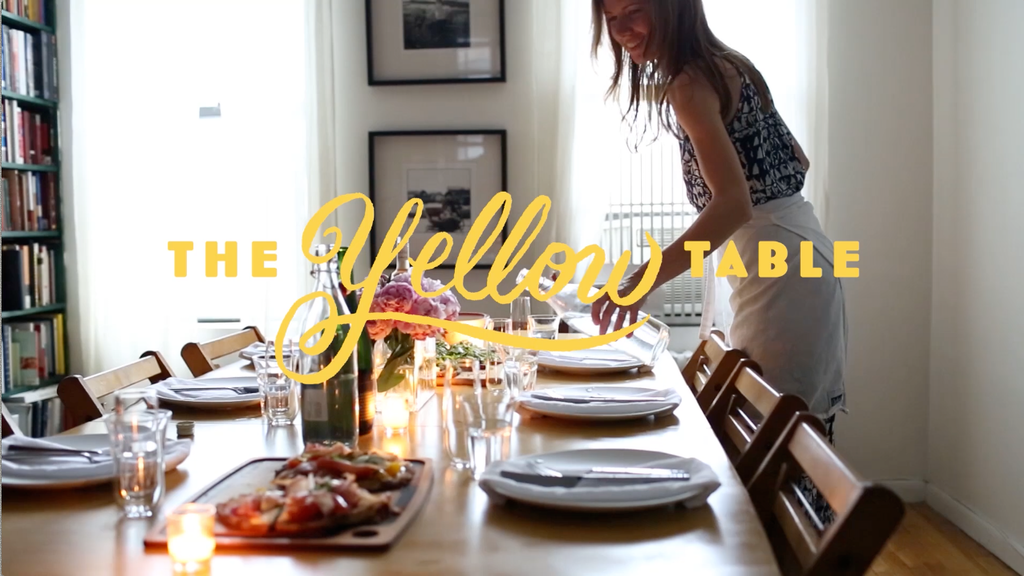 The Yellow Table Cookbook project video thumbnail