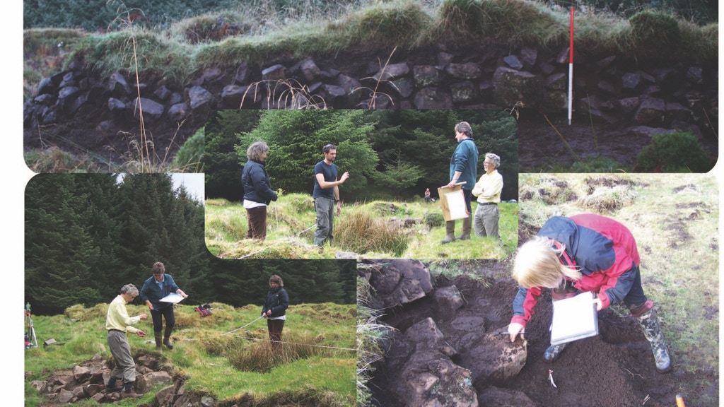 Project image for Kildavie Archaeological Excavation
