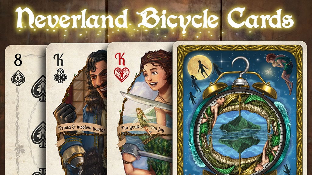 Neverland Bicycle Playing Cards project video thumbnail