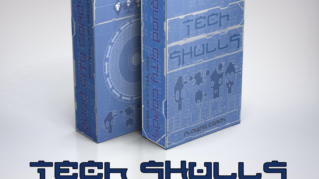 Project image for TECH SKULLS: Playing Cards (Canceled)