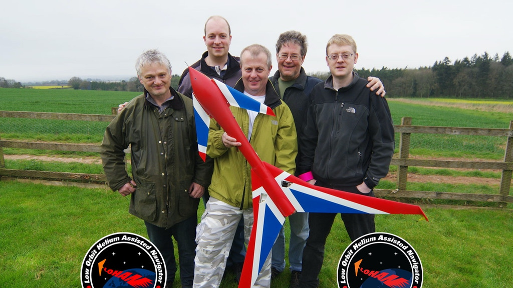 Balloon launch of the Vulture 2 rocket-powered spaceplane project video thumbnail