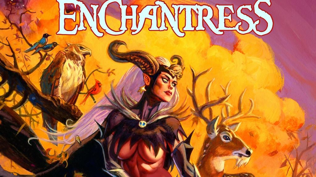 Enchantress - The Art of Dan Brereton Publisher's Edition project video thumbnail