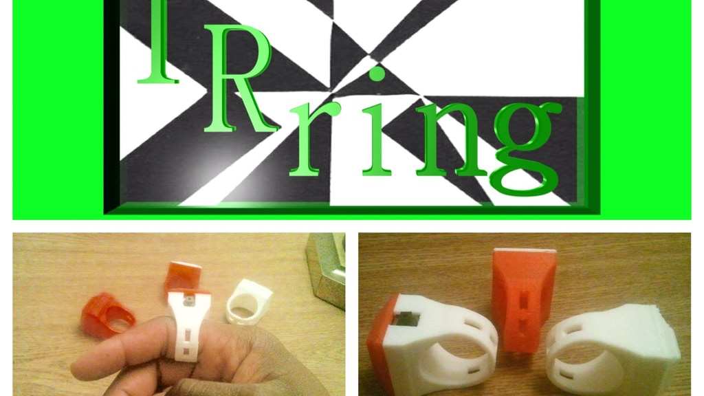 Project image for IRring - The Remote Control That fits on Your Finger