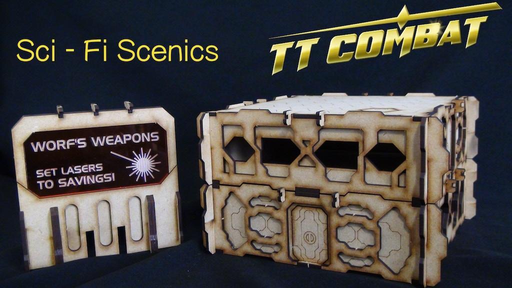 TTCombat's Sci-Fi Scenics! project video thumbnail