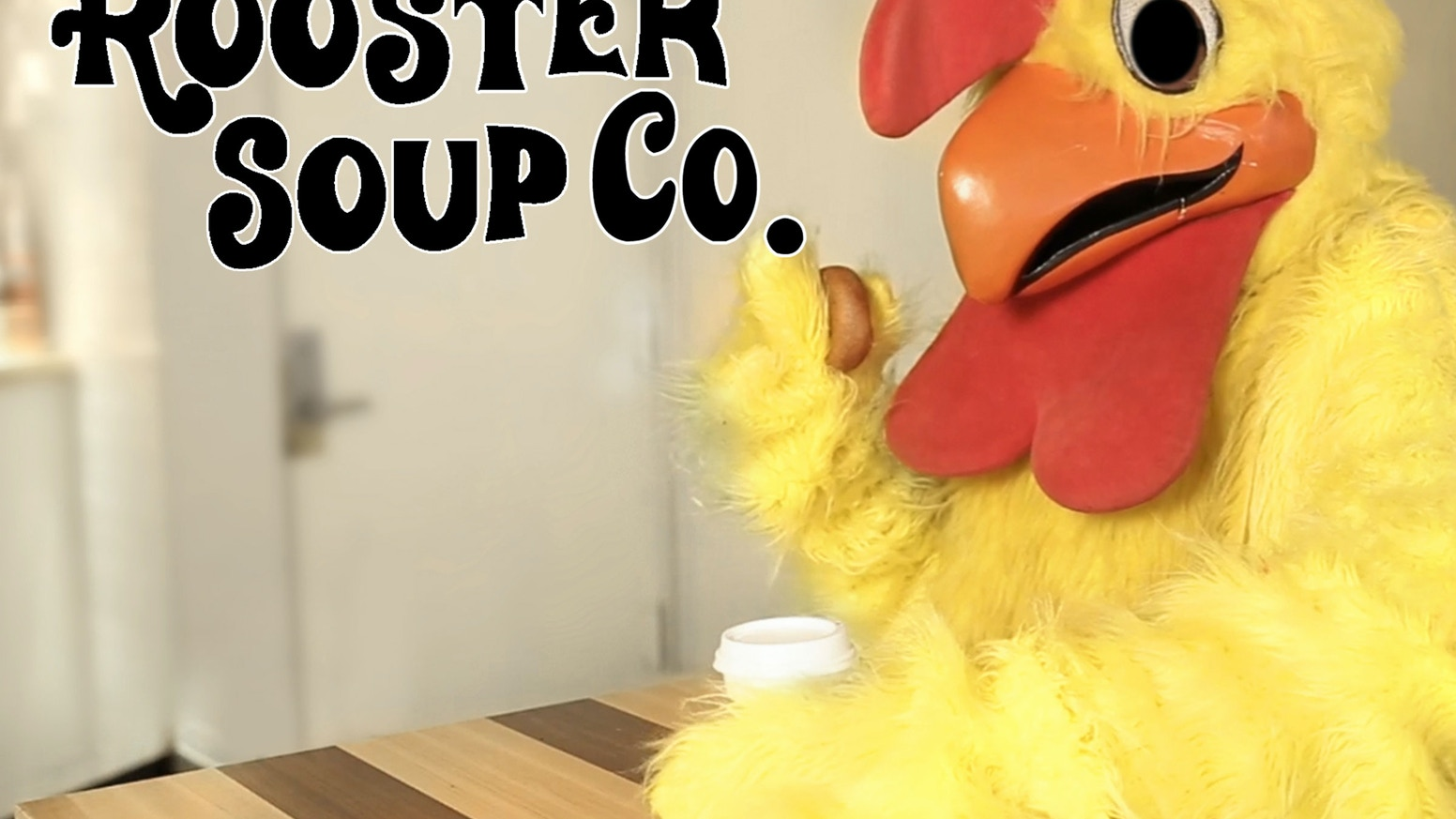 What if you could help someone who really needed it… just by eating lunch?  #RoosterSoup
