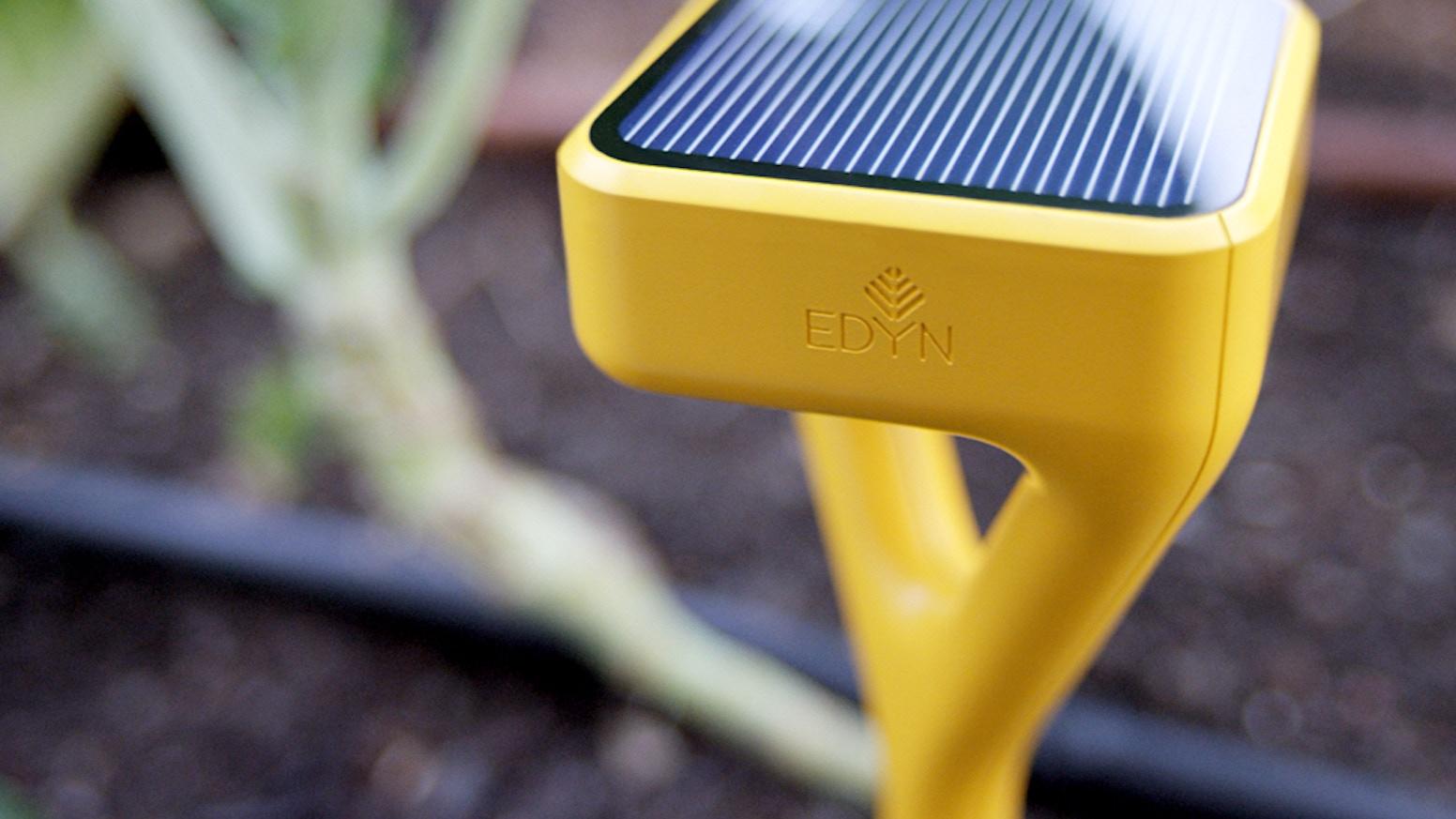 edyn welcome to the connected garden - Edyn Garden Sensor