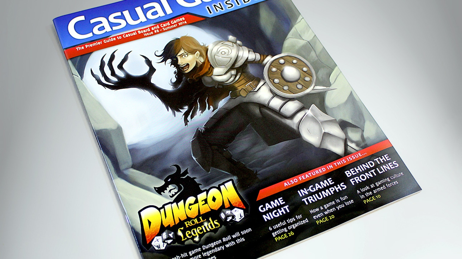 An awesome tabletop gaming magazine that reaches 2,100 game stores and now mainstream newsstands, thanks to you!