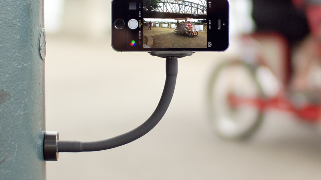 GripSnap: the magnetic holder for smartphones and GoPros project video thumbnail