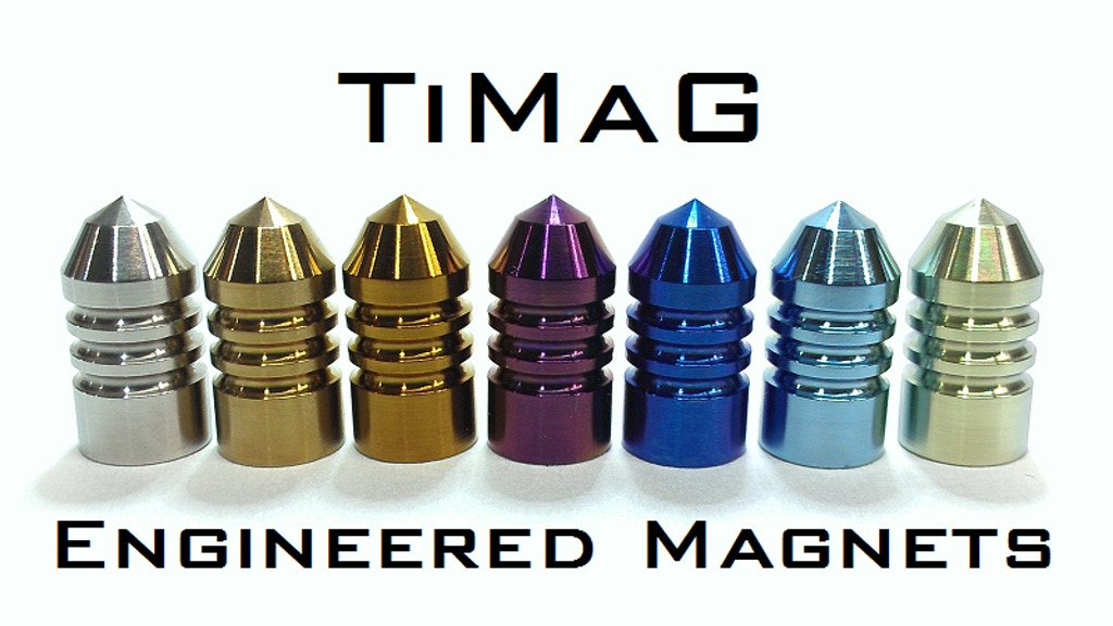TiMaG - Engineered Titanium Magnets - Not Potato Salad project video thumbnail