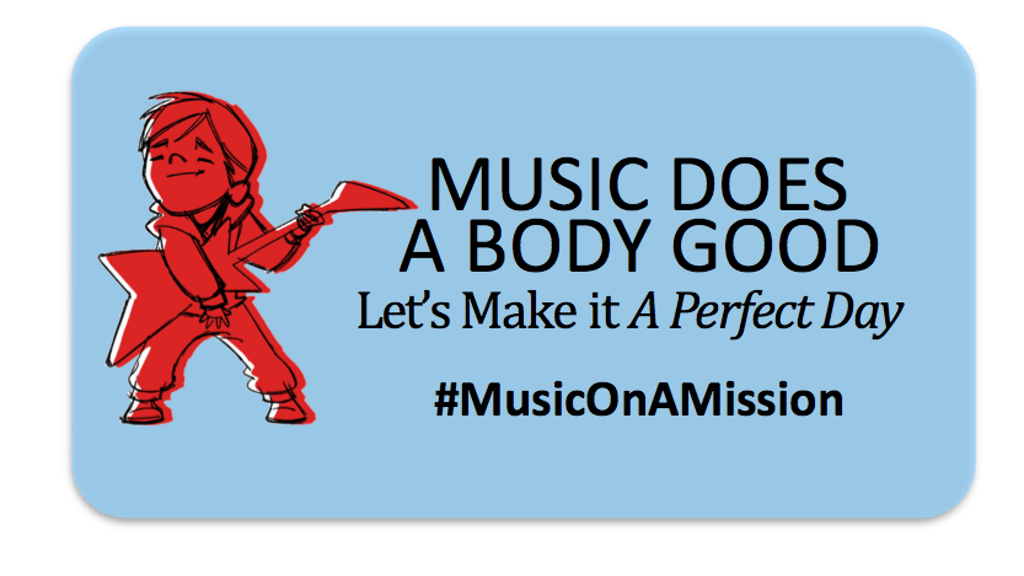 A Perfect Day: Music on a Mission to Help Kids LIVE WELL project video thumbnail