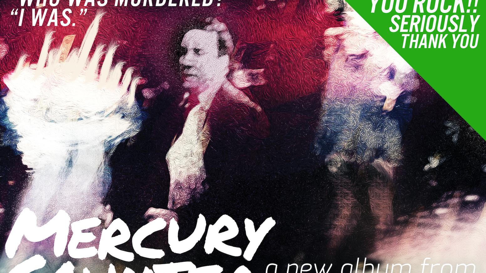 """Mercury Counter"" is the soundtrack to 1950s noir reimagined in a neon slum. The ticking clock demands revenge."