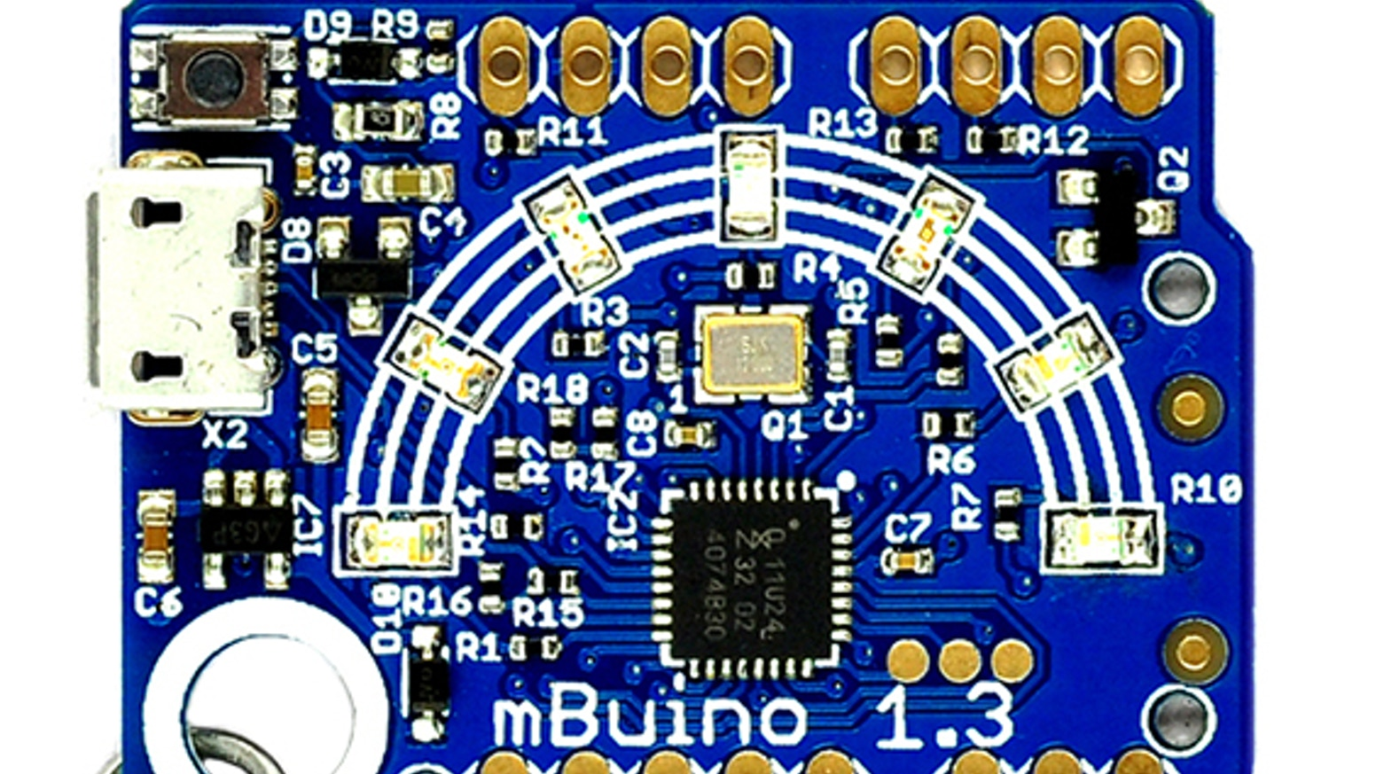 mBuino, a programmable mbed keychain by GHI Electronics, LLC