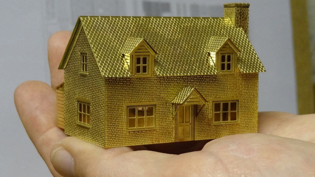A House in Your Hand -  architectural miniature model kits project video thumbnail