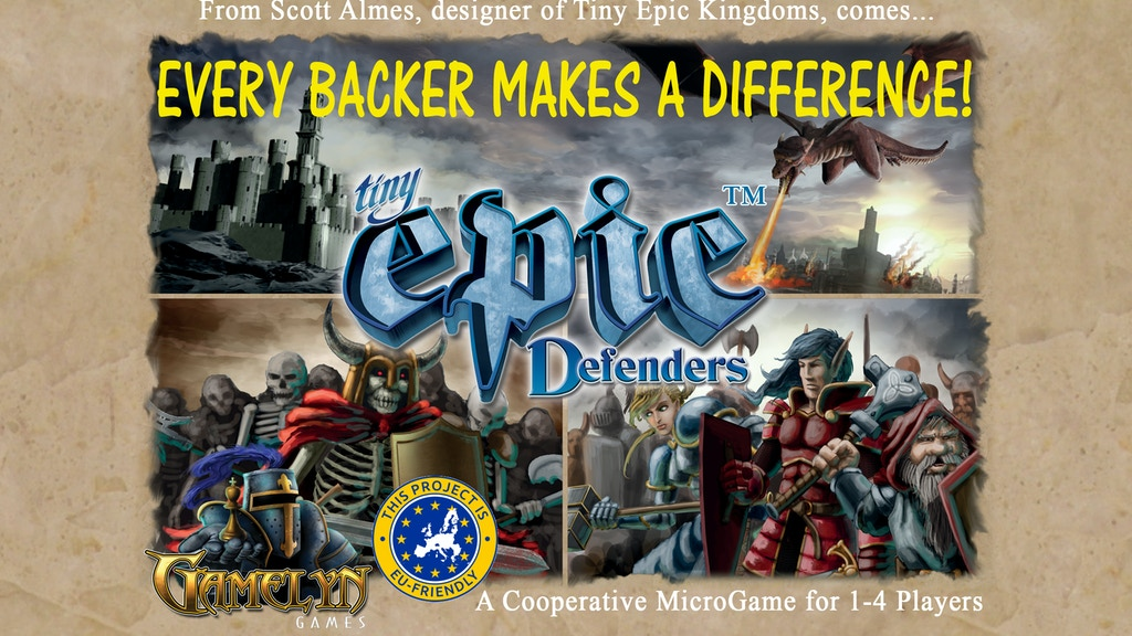 Tiny Epic Defenders project video thumbnail