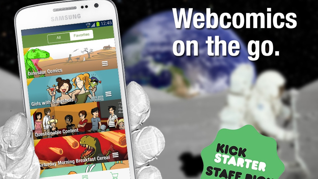 Comic Chameleon: The ultimate webcomics app, Android version project video thumbnail
