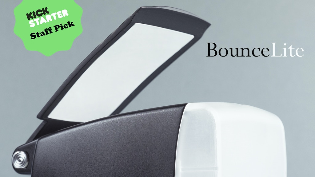 BounceLite: the revolutionary flash diffuser project video thumbnail