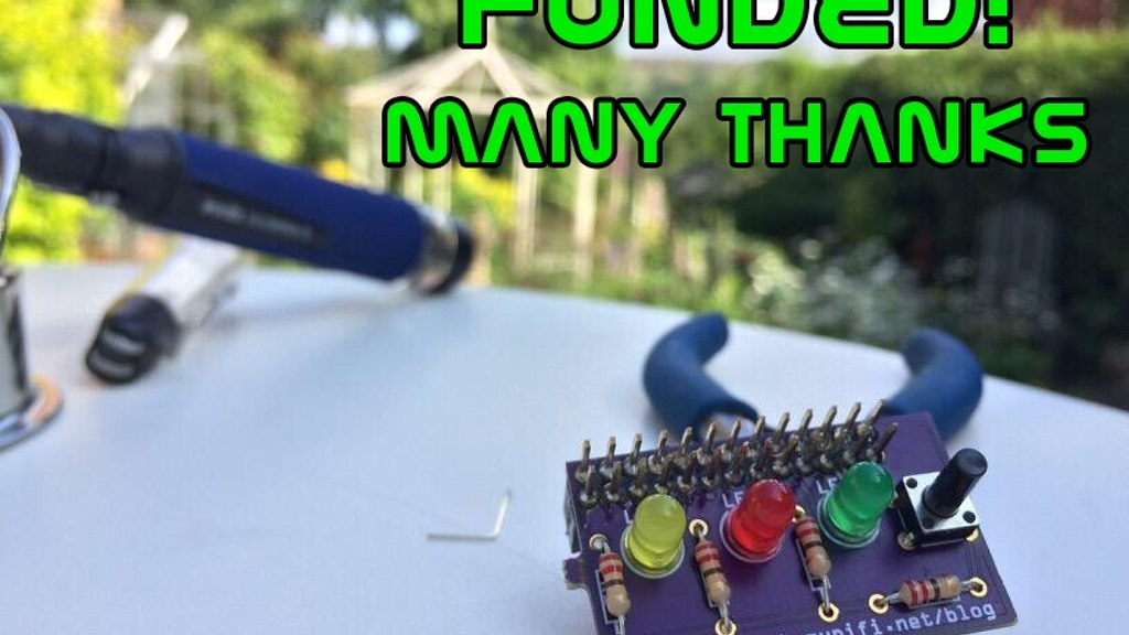 MyPiFi LED board FINAL HOURS project video thumbnail