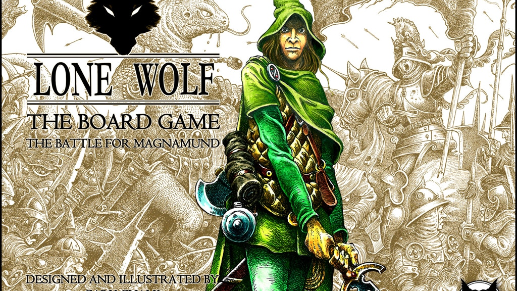 Lone Wolf - The Board Game project video thumbnail