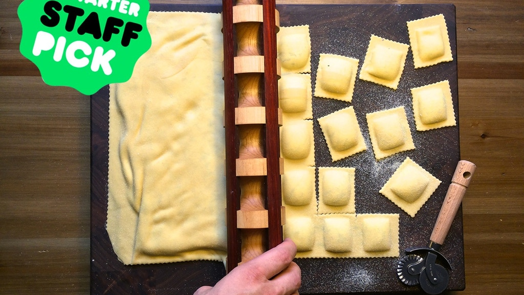 Fonde: The Ravioli Rolling Pin, Perfected. project video thumbnail