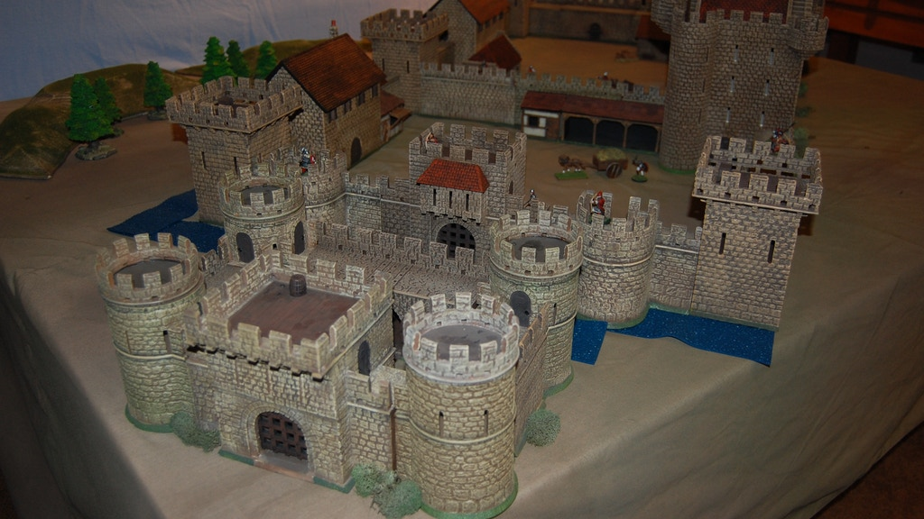 Miniature Building Authority Castle Kickstarter project video thumbnail