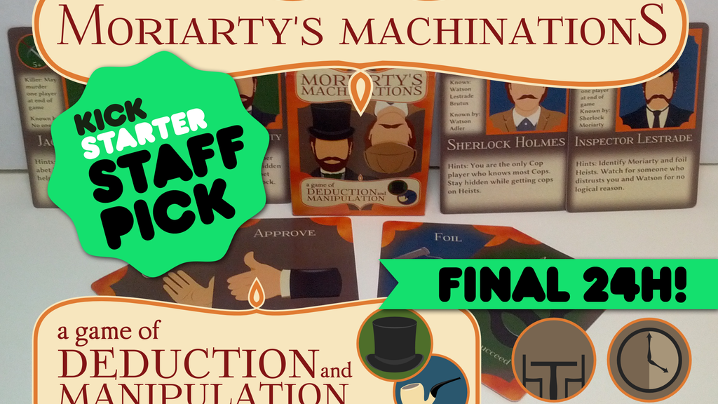 Moriarty's Machinations project video thumbnail