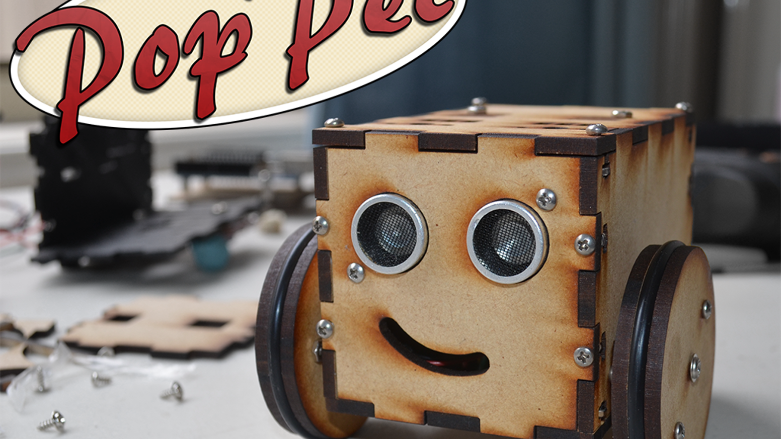 Poppet Diy Arduino Compatible Open Hardware Robot Kit By Jaidyn Circuit Maker Skill Builder Covers 125 Projects With Exciting A Focus On Steam Education Is Expandable Customizable Easy To Assemble Small Fun And Great Intro Into Robotics