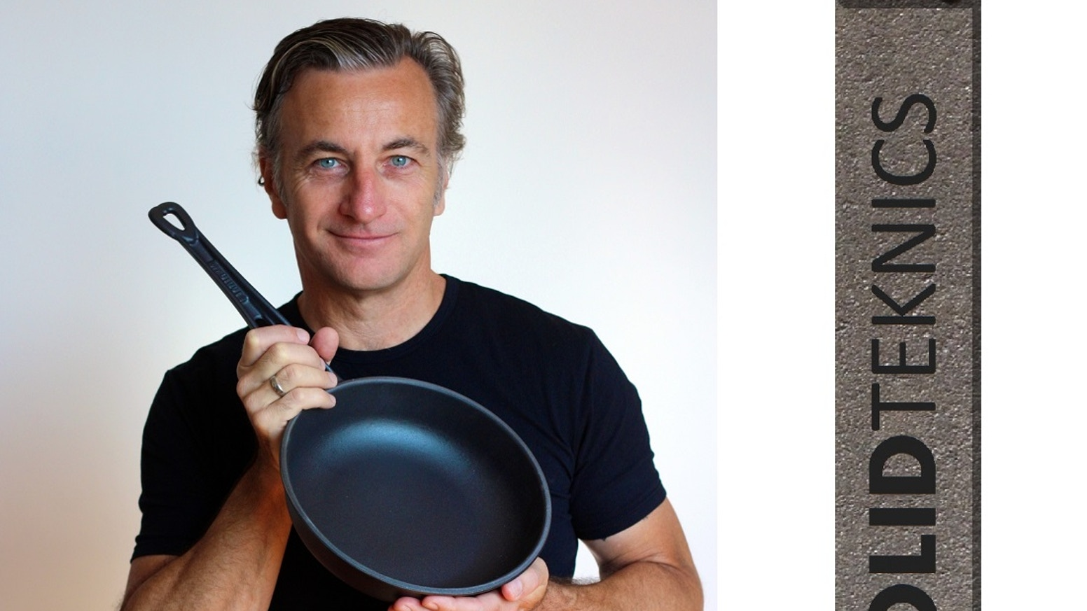 SOLIDTEKNICS Fonte™ pans by food-loving mechanical engineer MJ Henry. Australian-made French style sauteuse. First comfy iron handle <3