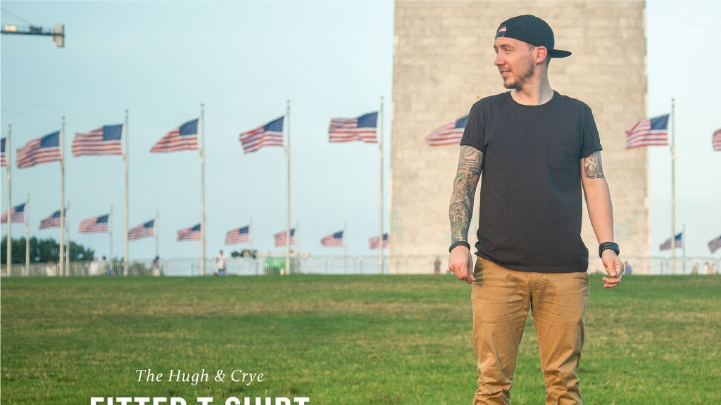 Hugh & Crye Fitted T-Shirts -- Made in the USA project video thumbnail