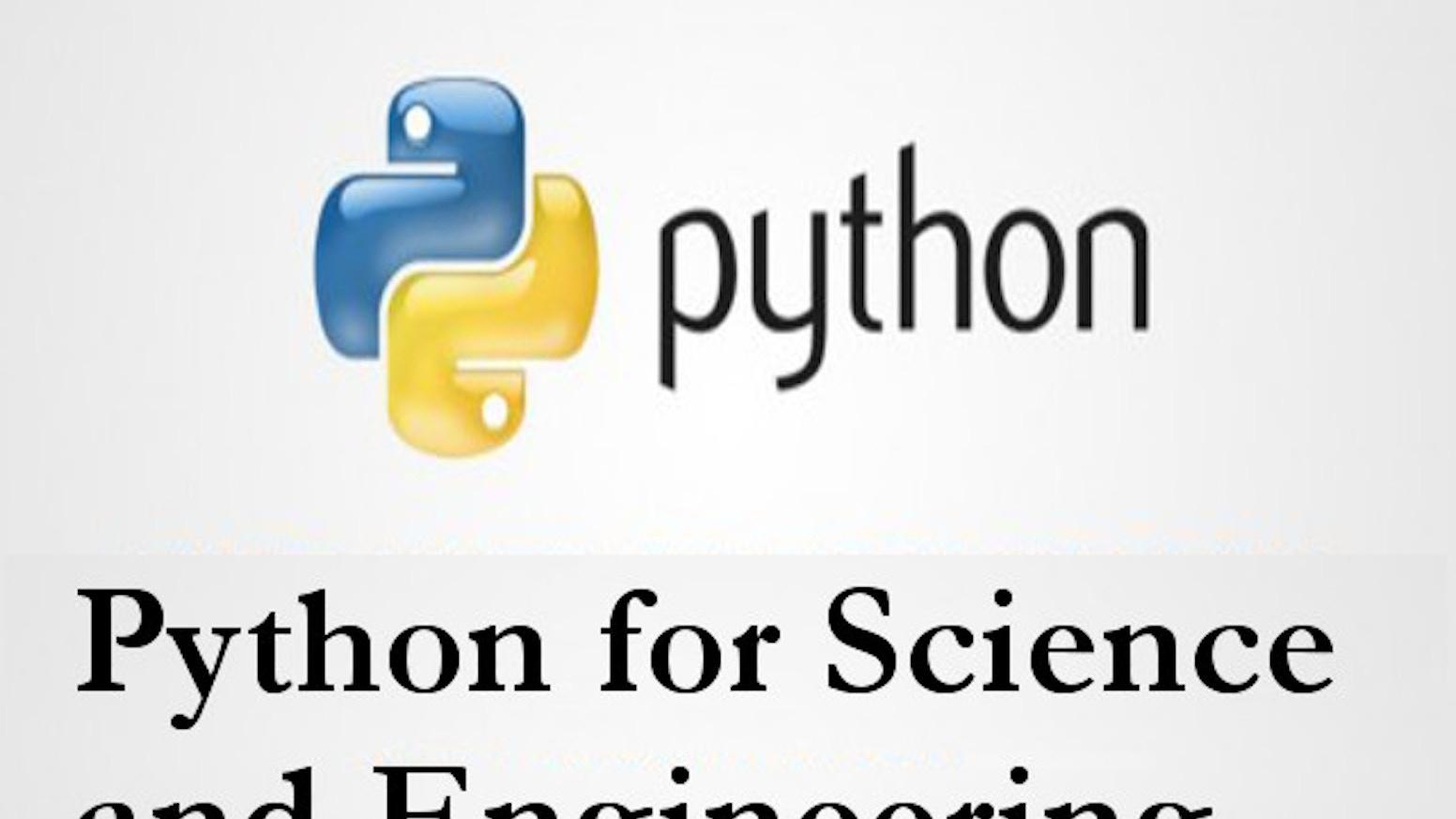 Python for Science and Engineering by Shantnu Tiwari — Kickstarter