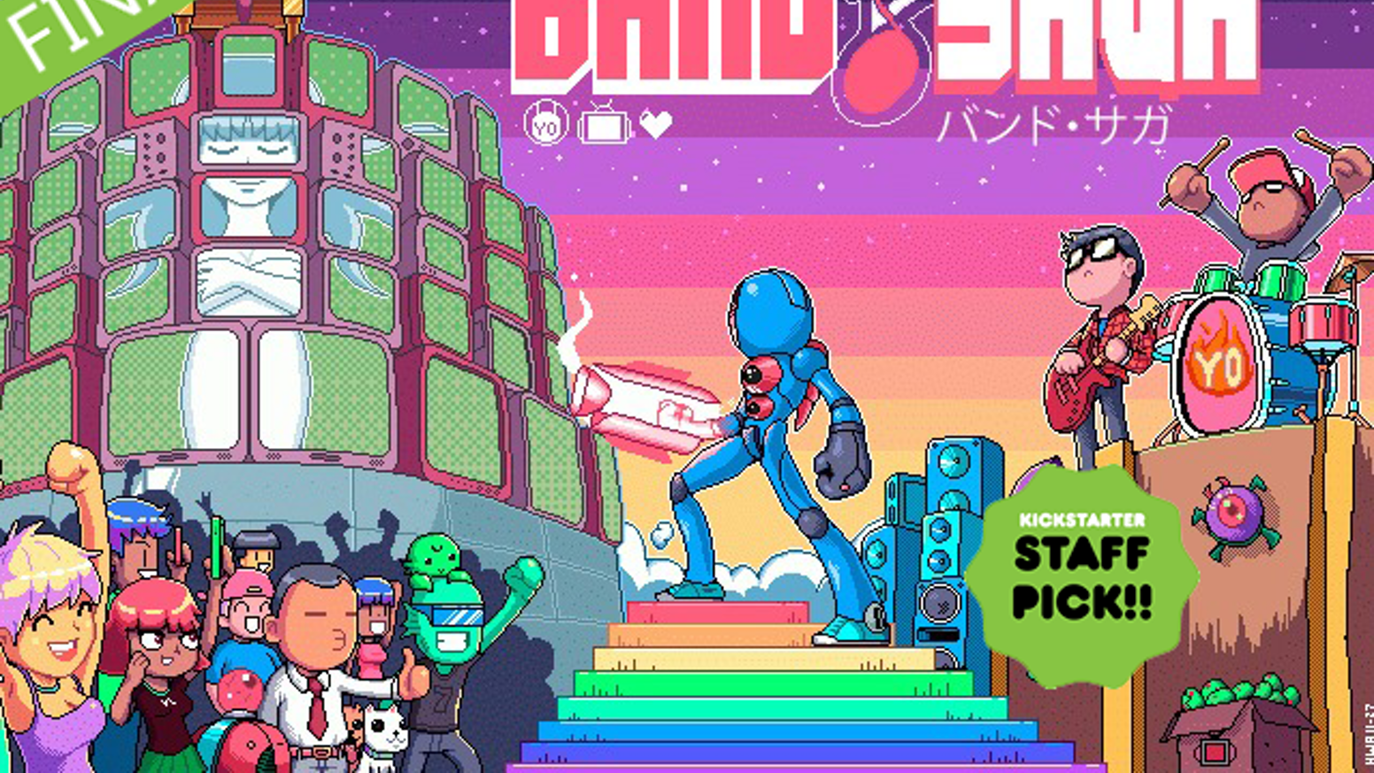 A musical Action Roguelike of epic proportions!