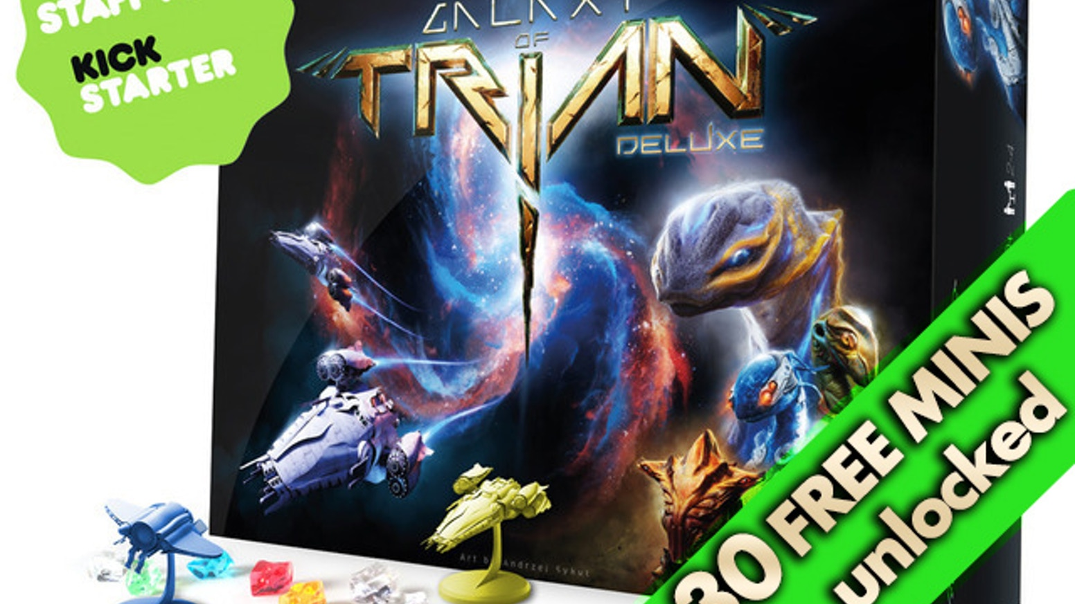 Choose a race. Explore the galaxy. Gather resources. Develop powerful technology. Challenge your friends in this tile-based board game!